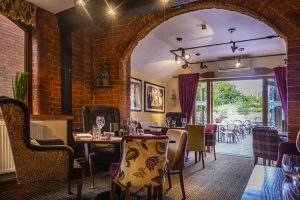 Feathers Ledbury Eatery to Courtyard